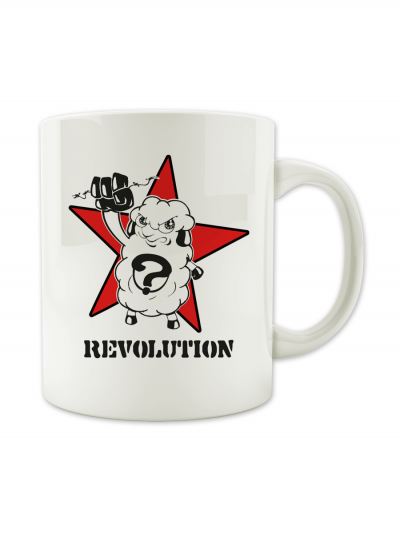 "MUG ""REVOLUTION"""