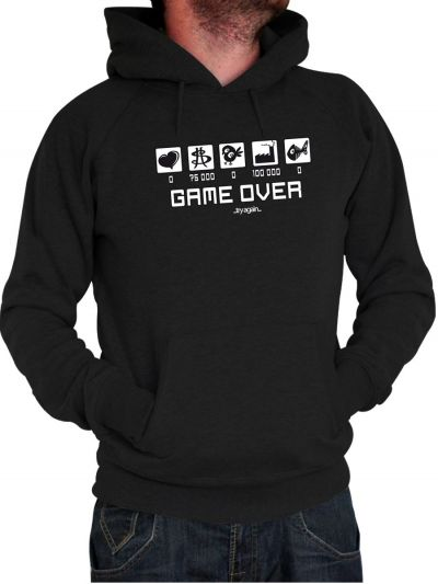 """Sweat homme """"Game Over"""""""