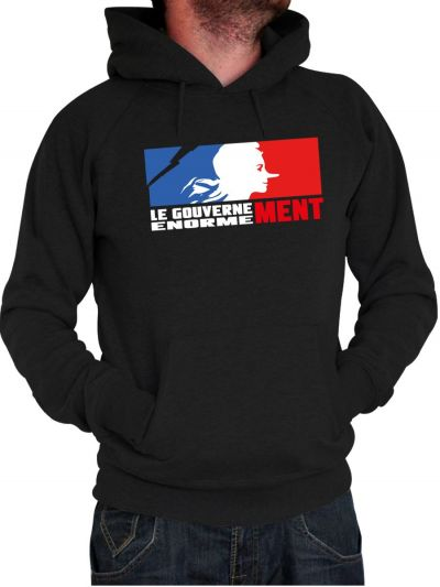 "Sweat homme ""Le Gouvernement """