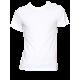 """Tee shirt homme """"coloc à terre"""" blanc en coton biologique"""