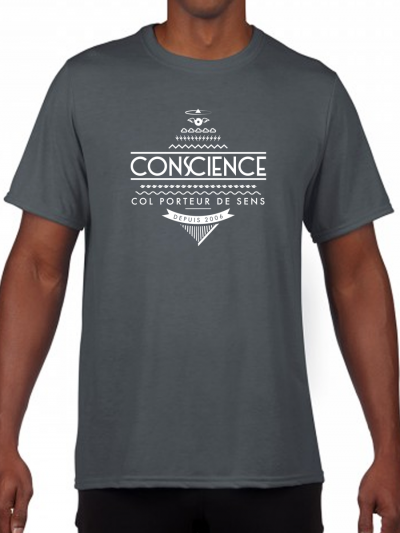 "T-shirt homme ""conscience"""