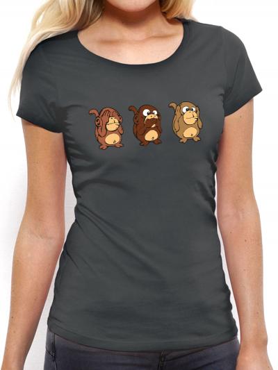 """T-shirt femme """"Singes horiz"""""""