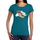 """T-shirt femme """"Stop ogm"""""""