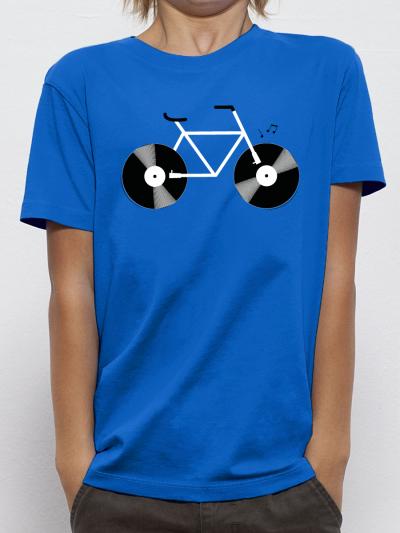 "T-shirt enfant ""Velo Vinyle"""
