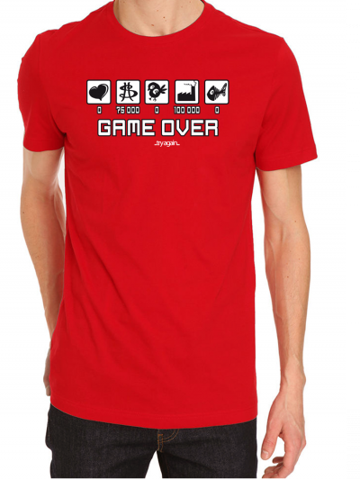 """T-shirt homme """"GAME OVER"""""""