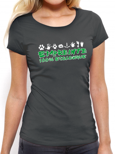"""T-shirt femme """"Empreinte"""""""