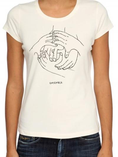 "T-shirt femme ""ensemble"""