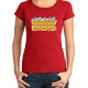"T-shirt femme ""Just smile"""