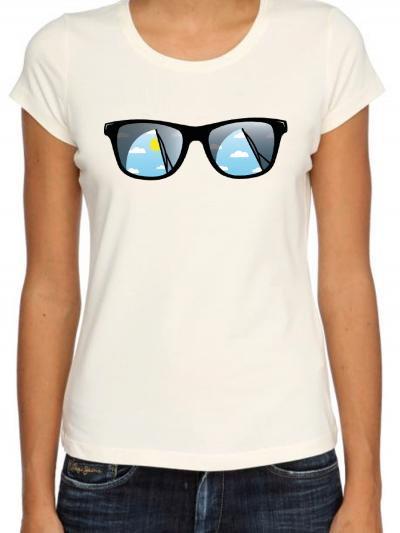 """T-shirt femme """"Lunettes"""""""