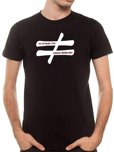 "T-shirt homme ""Ne change rien"""