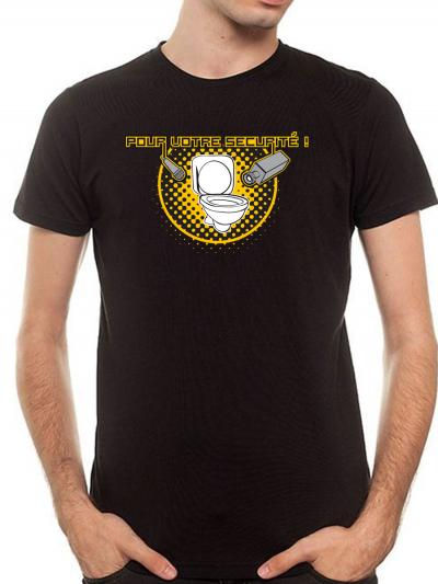 """T-shirt homme """" Sécurité """""""