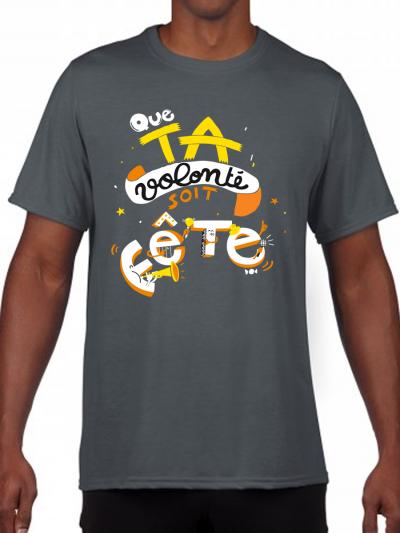 "T-shirt homme ""Ta volonté"""