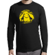 "T-shirt manches longues homme ""Girafe"""