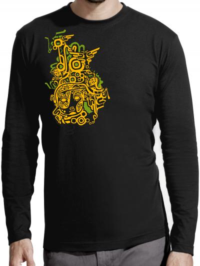 """T-shirt manches longues homme """"Incas"""""""