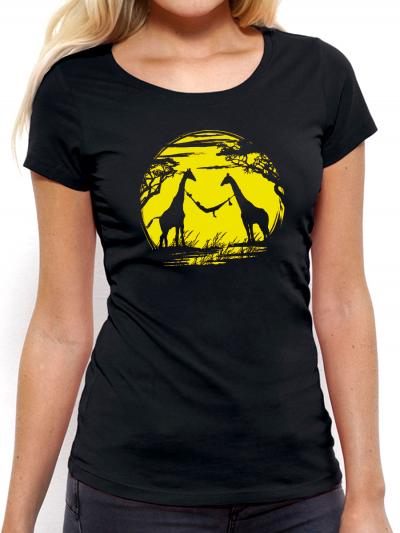 """T-shirt femme """"Girafe"""""""