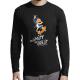 """T-shirt manches longues homme """"Plutot mourir"""""""