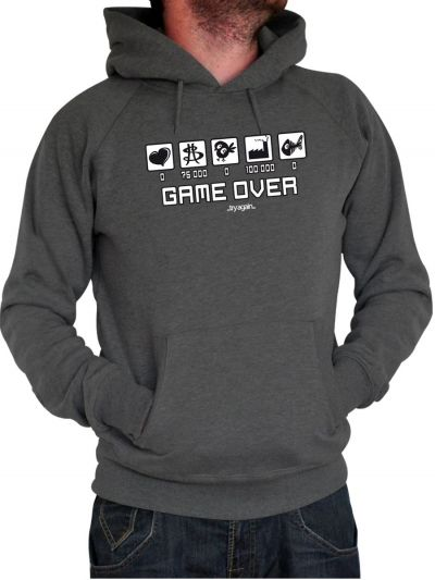 "Sweat homme ""Game Over"""