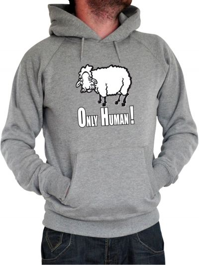 "Sweat homme ""Only human"""