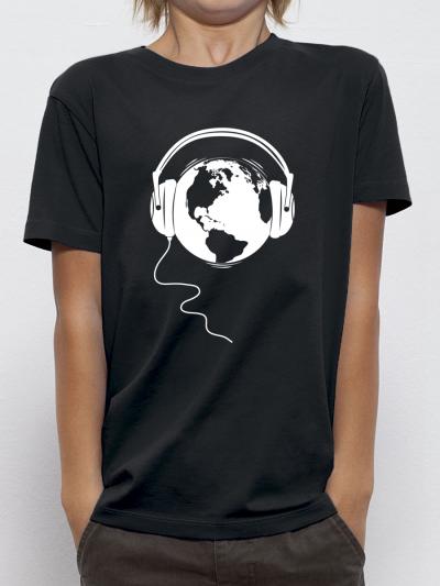 """T-shirt enfant """"Ecoute la terre"""""""