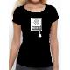 """T-shirt femme """"prise de tete"""""""