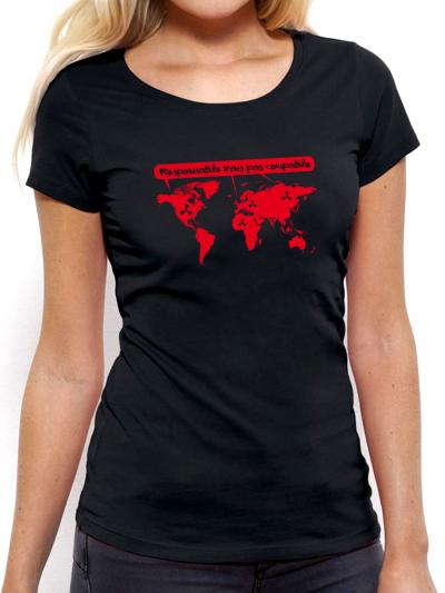 """T-shirt femme """"Responsable"""""""