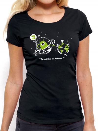 "T-shirt femme ""Toc toc"""
