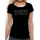 """T-shirt femme """"Tout noir"""""""