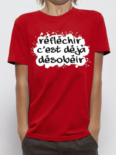 "T-shirt enfant ""Reflechir"""