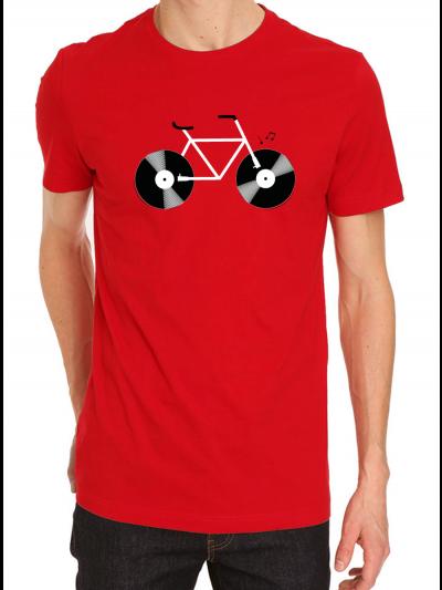 """T-shirt homme """"VELO VINYLE"""""""