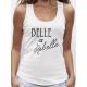 "Débardeur femme ""Belle et rebelle"""