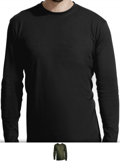 Tshirt homme manches longues