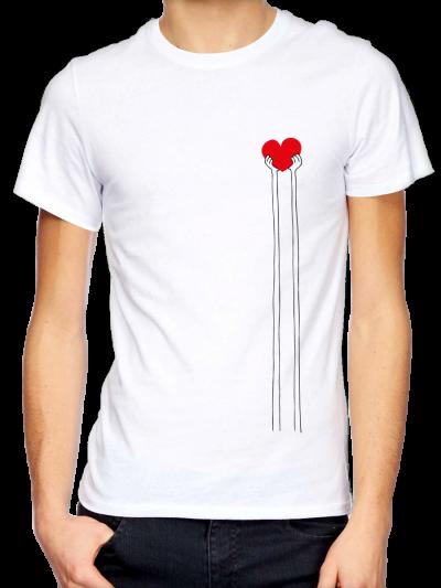 """T-shirt homme """"Coeur"""""""