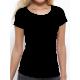 """T-shirt femme """"Je suis contente d'être heureuse """""""