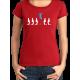 "T-shirt femme ""vivre"""