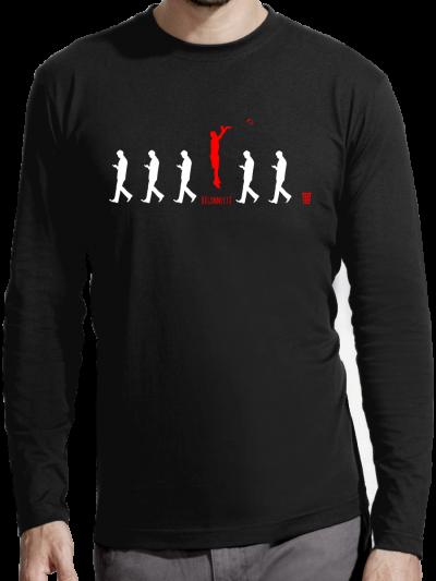 """T-shirt manches longues homme """"Deconnecté"""""""