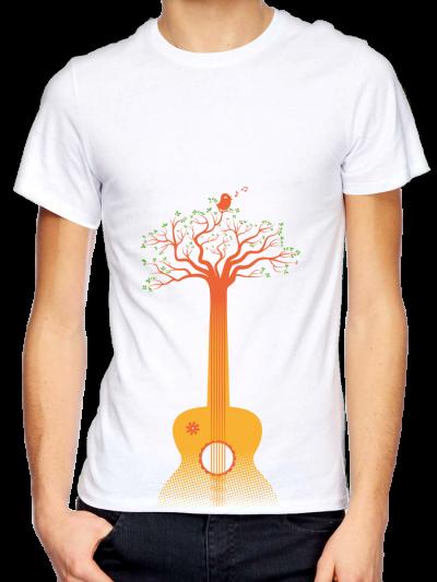 """T-shirt homme """"Guitarbre"""""""