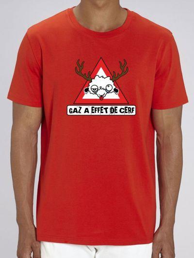 "T-shirt homme ""Gaz à effet de serre"""