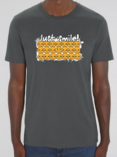 "T-shirt homme ""Just smile"""