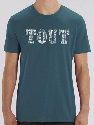 """T-shirt homme """"Tous blanc"""""""