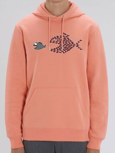 "Sweat homme ""Poissons unis"""