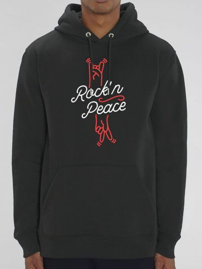 "Sweat homme ""Rock'n Peace"""