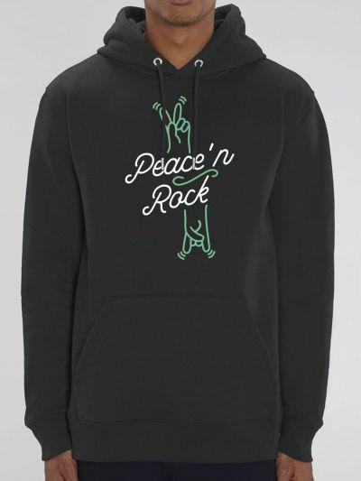 """Sweat homme """"Peace'n Rock"""""""