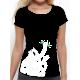 """T-shirt femme """"argent"""""""