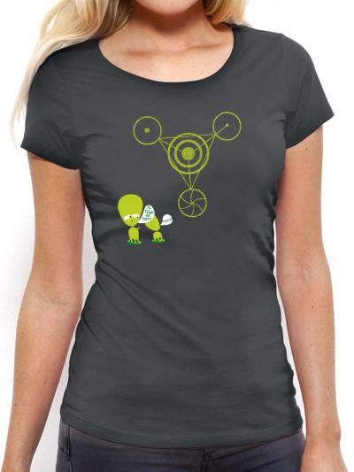 """T-shirt femme """"crop circle"""""""
