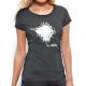 "T-shirt femme ""et merde"""