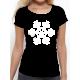 """T-shirt femme """"Ici et maintenant blanc"""""""