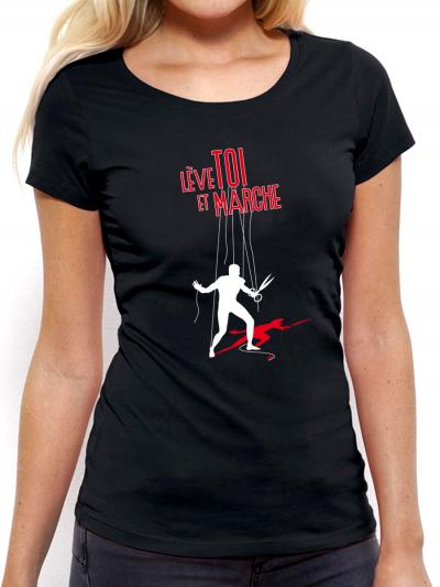 """T-shirt femme """"Lève toi"""""""