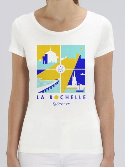 "T-shirt femme ""La Rochelle"""