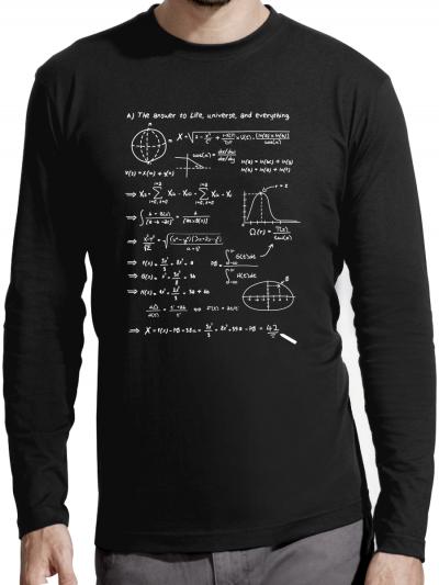 "T-shirt manches longues homme ""42"""