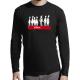 """T-shirt manches longues homme """"Plutot clown"""""""